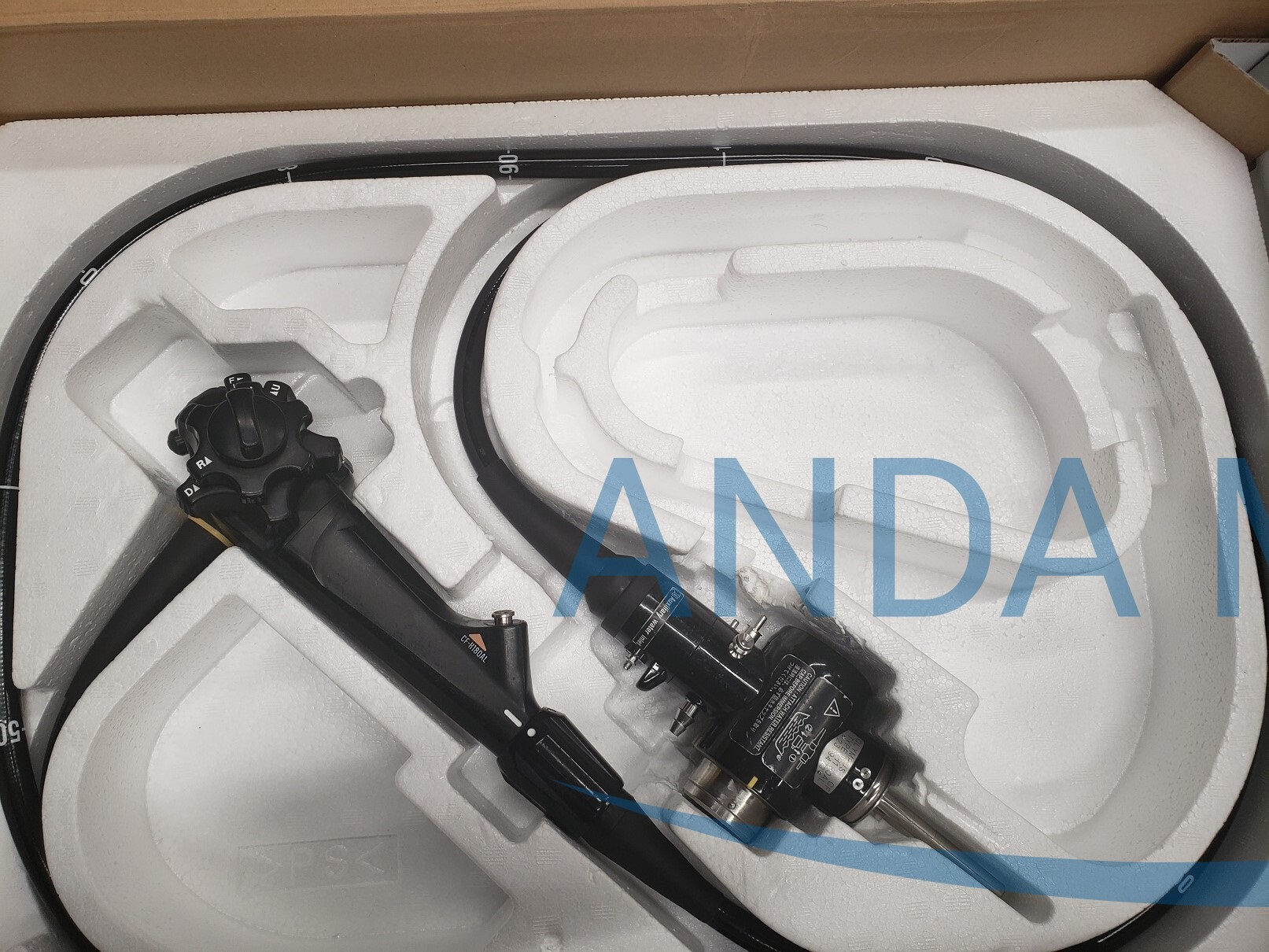Olympus Evis Exera II endoscope black