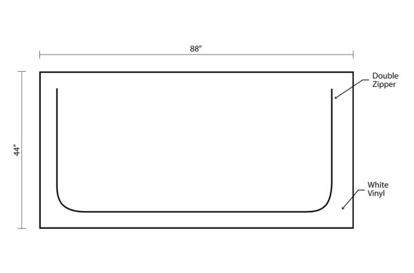 body bag product layout dimension and features